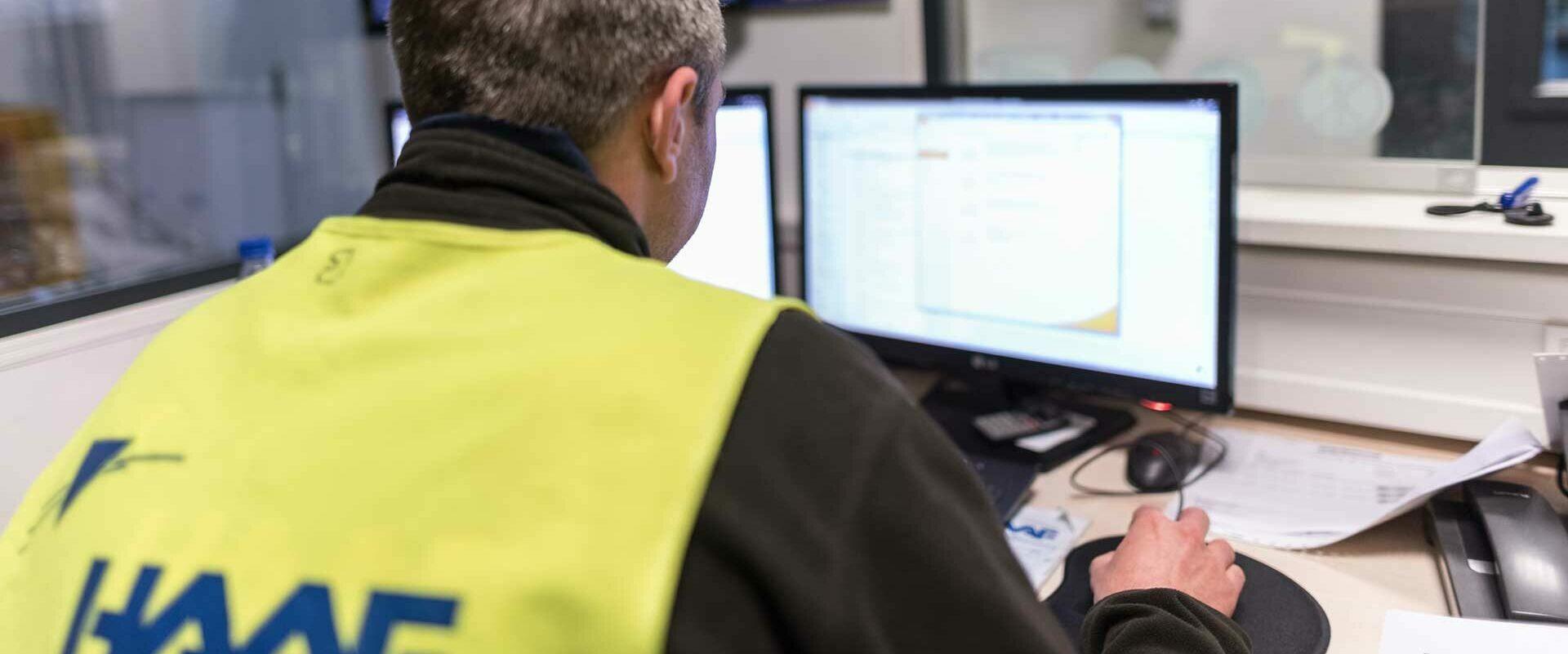 Mitarbeiter des Logistic Consulting